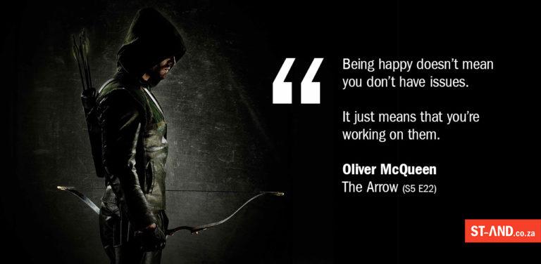 Arrow self-awareness quotation