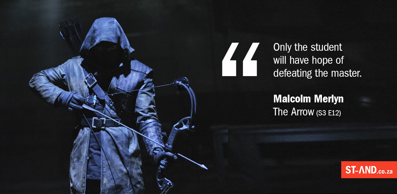 Malcolm Merlyn on being the best