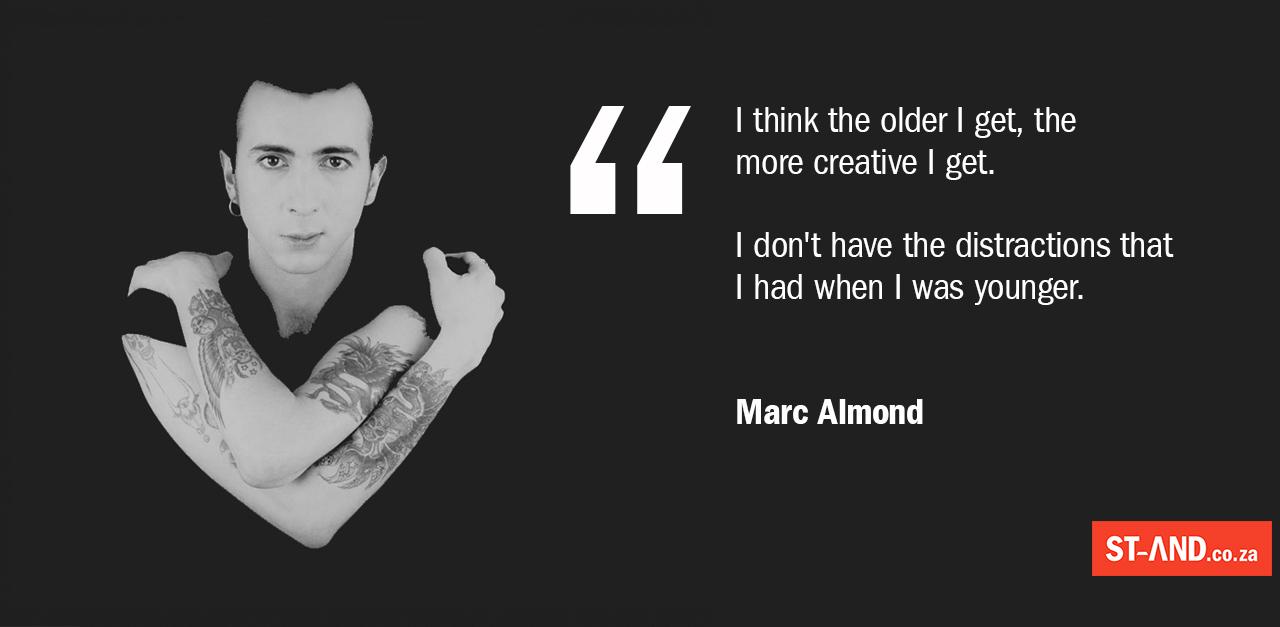Marc Almond on creativity
